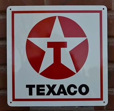 Texaco Gas Station Pump SIGN Service Mechanic Garage Shop Sign Collectable 7day
