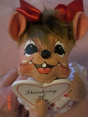 Annalee Valentine's Day Mouse