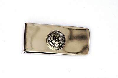 Clay's 100 Pewter Motif Money Clip Free Engraving Gift Shooting Present