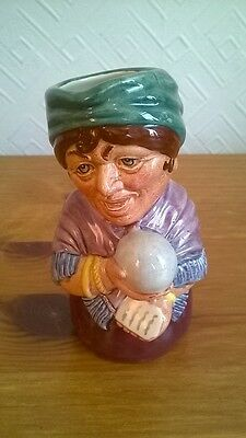Royal Doulton Toby Jug, Madame Crystal, The Clairvoyant. Charity Sale