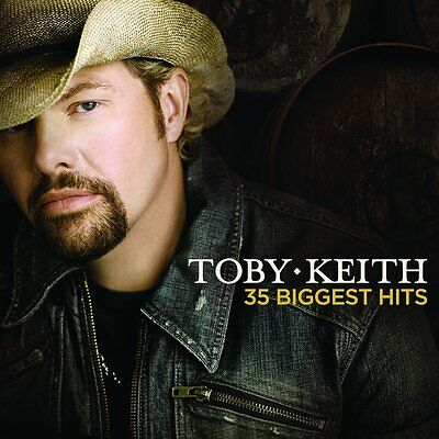 TOBY KEITH 35 BIGGEST HITS 2 CD SET (Greatest Hits / The Very Best Of)