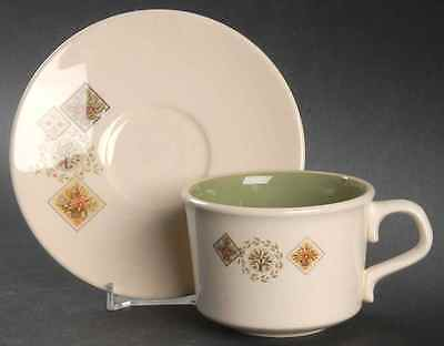 Taylor Smith & Taylor BROCATELLE Cup & Saucer S7020497G2