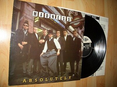 MADNESS ABSOLUTELY **DIFFERENT SLEEVE** The Specials 2-tone two ska Mod Selecter