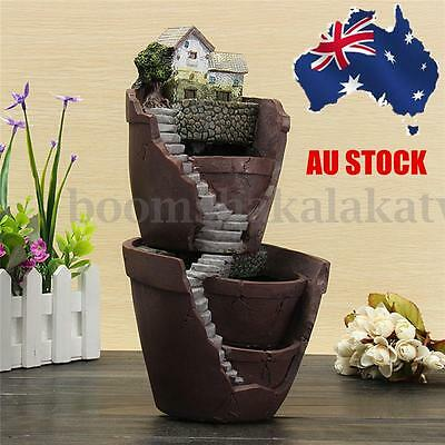 Sky Garden Herb Flower Basket Planter Succulent Pot Trough Box Case Plant Bed AU
