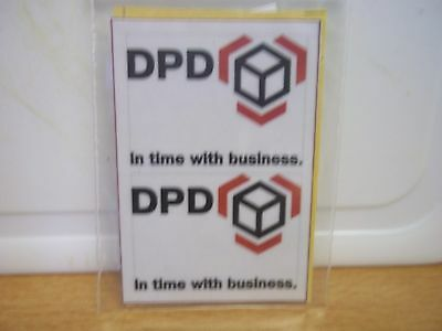 corgi/dinky/matchbox decals DPD in time with business (DPD 3a)