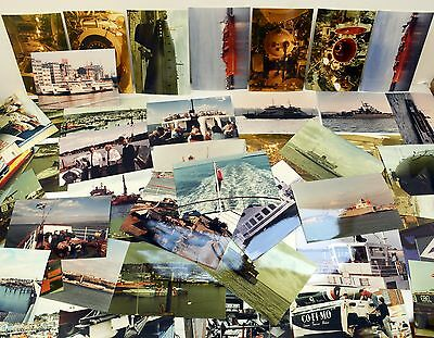 Job Lot of Over 60 Real Photographs of Boats / Ships & Other Nautical Themes.