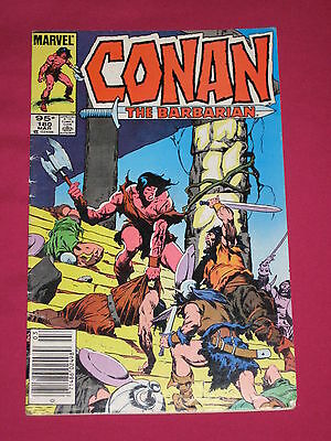 Conan The Barbarian #180 Marvel Comic 1986 Key..1st App of General Soto & Ren