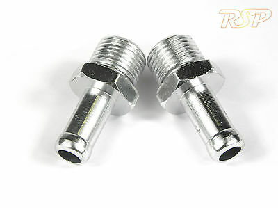 Replacement Aluminium 10mm Inlets / Outlets for Oil Catch Tank M16x1.5 Thread