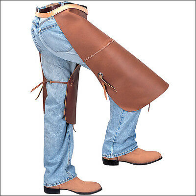 Cowboy Pro Rodeo Top Grain Riding Hay Chaps By Weaver Leather