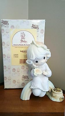 Precious Moments Figurine ~Dreams Really Do Come True ~ #128309 Trumpet Mark