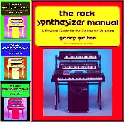 SYNTHESIZER MOOG MANUAL ROCK ELECTRONIC MUSIC Book A-Z ANALOG DIGITAL OLD SCHOOL