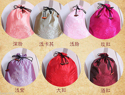 Wholesale 10PCS CHINESE CLASSIC STYLE EMBROIDERD DRAGON SILK CLOTH SHOE BAG hot