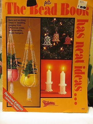 Vintage Bead Projects The Bead Book Has Neat Ideas Christmas Decor Hangers