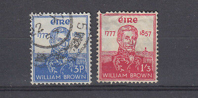 Two very nice old 1957 Irish Admiral Brown issues