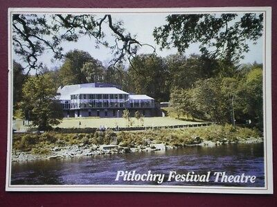 Postcard Perthshire Pitlochry Festival Theatre