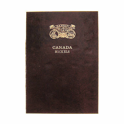 1922-2006 Canada 5c Cent Nickel Collection Book, Includes 1925 & 1926 #52925