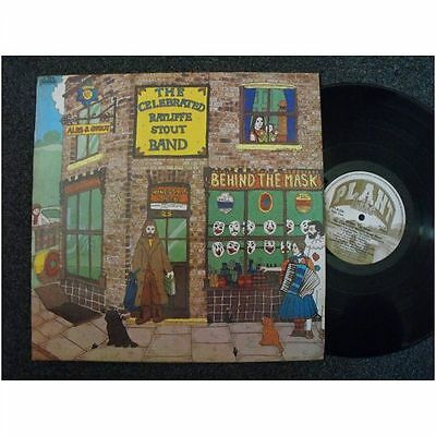The Celebrated Ratliffe Stout Band - Behind The Mask . + Insert .1979 UK Press