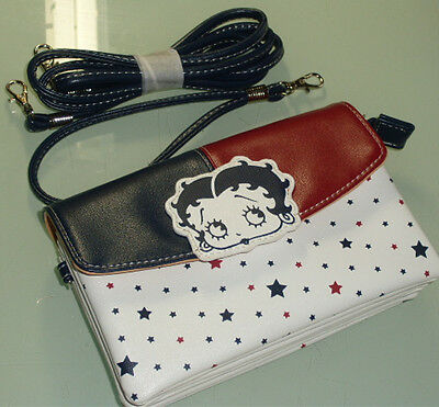 Original Betty Boop Multipurpose Bag Purse pouch with shoulder tape #39