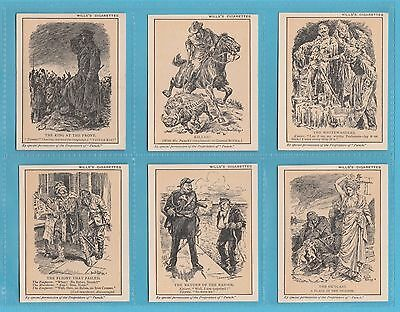 W. D. & H. O. Wills  - Very Rare Set Of L 25 Punch Cartoons 2Nd Series  -  1917