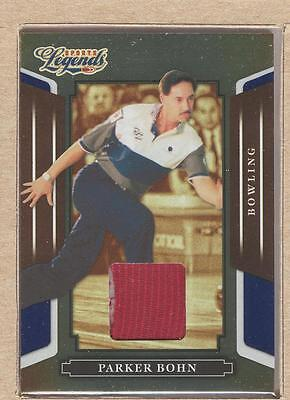 Parker Bohn 37 2008 Donruss Sports Legends Materials Mirror Blue 024/250
