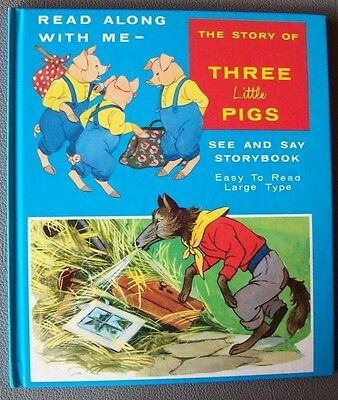 *The Story of the three little Pigs* Tom & Blonnie Holmes /englisches Bilderbuch