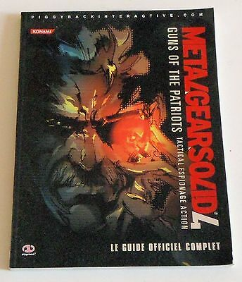 Metal Gear Solid 4  Guns of the patriot -  Le Guide officiel complet