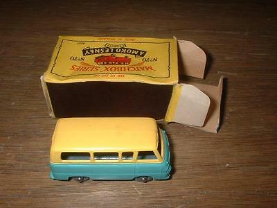 Matchbox Lesney Moko 1959 70A Ford Thames Estate Car Mint Condition Poor Box
