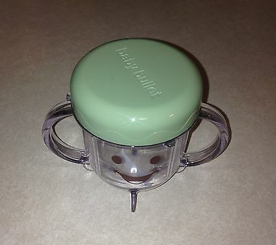 Magic Bullet Baby Short Cup & Stay Fresh Resealable Lid