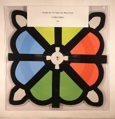 NEW ORDER PEOPLE ON THE HIGH LINE SHAPED PICTURE DISC + Downloads LTD MUTE553