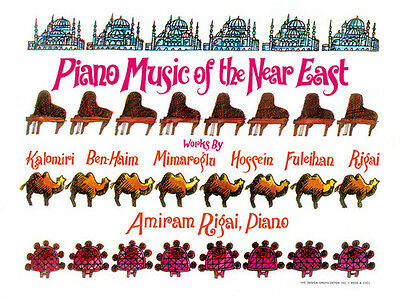 Various Artists - Piano Music Of The Near East / Various [New Vinyl]