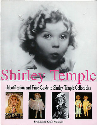 SHIRLEY TEMPLE COLLECTIBLES ID & Price Guide BOOK  NEW