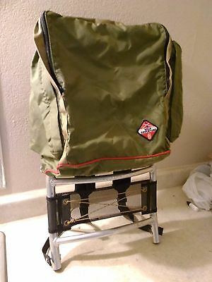 Vintage 1970s High Adventure Boy Scouts of America Back Pack with Aluminum Frame