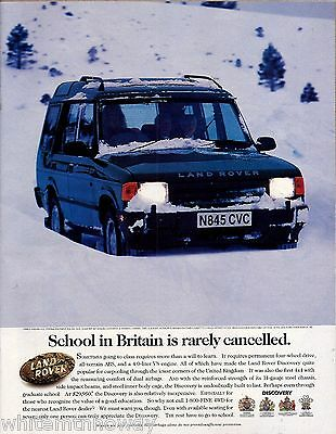1995 LAND ROVER Discovery All-terrian ABS Vehicle Photo AD