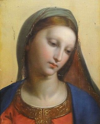 Fine 16th Century Italian Old Master Madonna Renaissance Antique Oil Painting