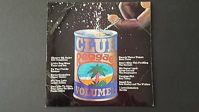 Club Reggae Volume 2 Vinyl Record LP Trojan TBL-164 1971 Original 1st Pressing