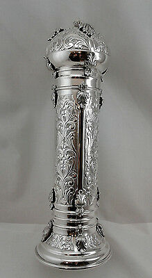 Italian Megilah Holder - Sterling Silver 925 - 1077 grams Fits 17""