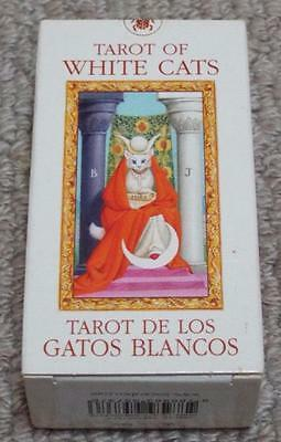 Tarot of White Cats - Deck of Tarot Playing Cards