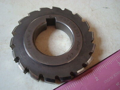 Hurth Hss Milling Cutter For Cutting Splines Never Used