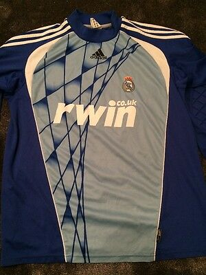 Rare Real Madrid Goalkeeper's Football Shirt / Soccer Jersey