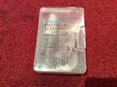 M&S travel spectacle cleaning kit