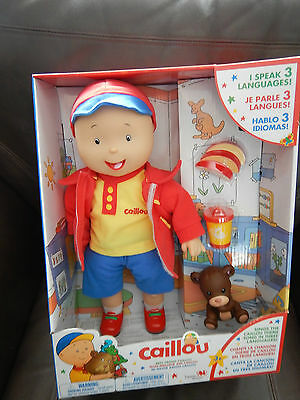 "Caillou BEST FRIEND 16"" Doll: Singing & Talking:English-Spanish-French: Teddy 3"""