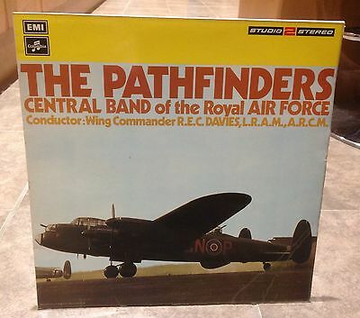 Lp Record Album Vinyl Pathfinders - Central Band Royal Airforce