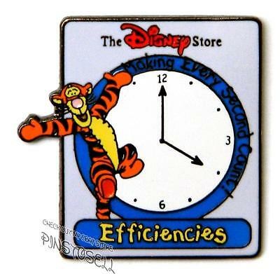 Tigger Efficiencies Cast Memeber Award Very Rare Disney Store Pin