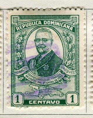 DOMINICA;  1929 early portrait issue fine used 1c. value