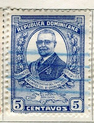 DOMINICA;  1929 early portrait issue fine used 5c. value