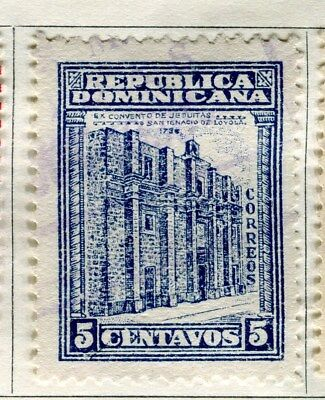 DOMINICA;  1930 early pictorial issue fine used 5c. value