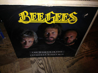 Bee Gees Vinyl Record LP SEALED The Woman In You Extended play Saturday Night Mi