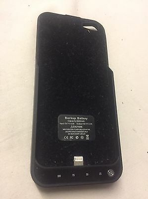 iPhone 5 Back Up Battery Case/charger