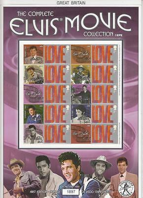 GB -BC-037 2004 Elvis Movie Collection 1967-1969 Business Smilers Sheet