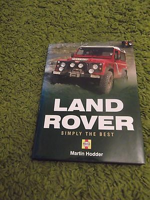 LAND ROVER ...SIMPLY THE BEST ..Martin Hodder ...2005